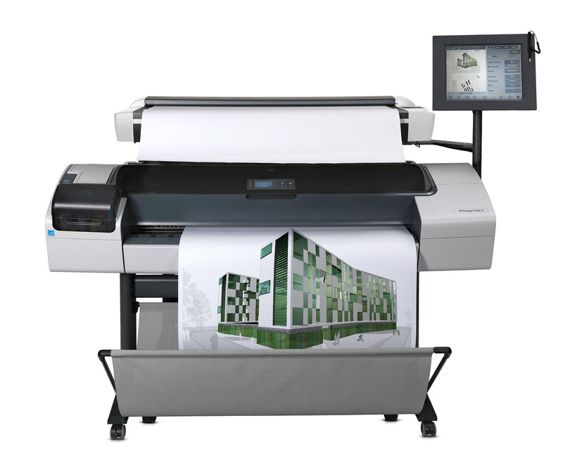 HP Designjet T1200 repair